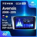 TEYES CC2L и CC2 Plus Штатная магнитола For Тойота Авенсис T270 For Toyota Avensis 3 2008 - 2015 Android до 8-ЯДЕР до 6 + 128ГБ 16*2EQ + DSP 2DIN автомагнитола 2 DIN DVD GPS мультимедиа авт...