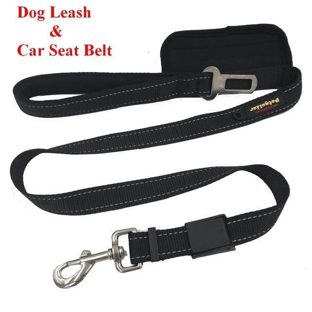 2 In 1 Hundeleine Mit Auto Sicherheitsgurt Reflektierende Hohe Qualität Multifunktions Hund Haustier Leine