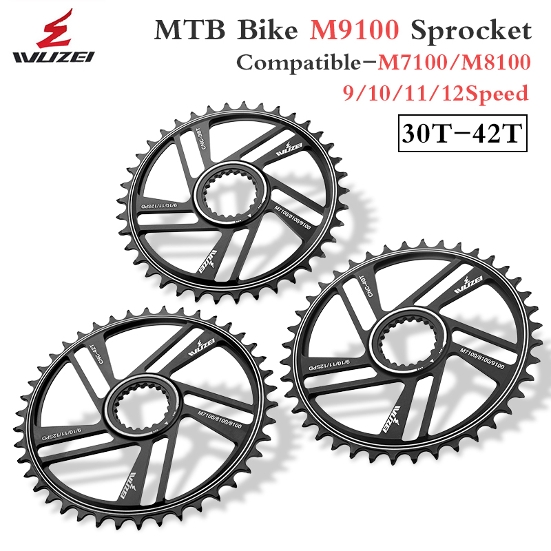 WUZEI 12 Speed Chainwheel 32T 34T 36T 38T 40T 42T for SHIMANO M9100 M8100 M7100 12S Crank MTB Bike Chainrings Bicycle Sprockets