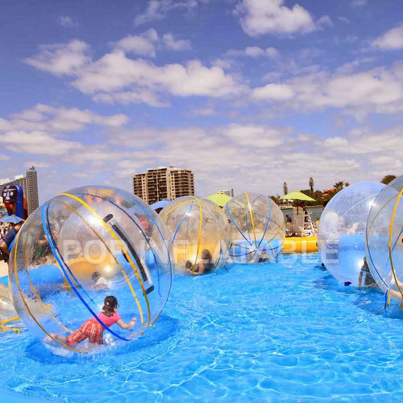 Free Shipping 2M Inflatable Water Walking Ball Water Rolling Ball Water Balloon Zorb Ball Water Walker Water Balloons Beach Ball