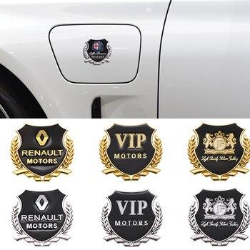 2Pcs Metal Car Sticker Badge for Chevrolet Chevy Corvette Camaro Aveo Cruze Malibu Captiva Trax Niva Car Emblem Decal Decoration