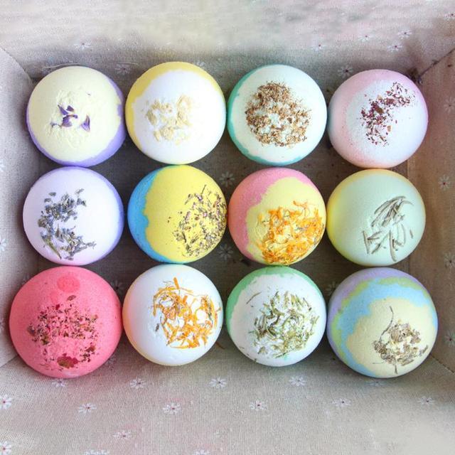 Natural Bubble Bath Salt Ball Environmental Protection and Durability Bomb Whiten Moisturize Exfoliating Soap Skin Care