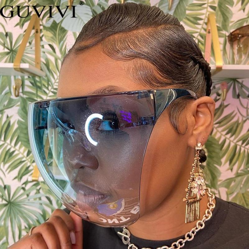 Men's Women's Faceshield Protective Glasses Goggles Safety Glasses Anti-Spray Mask Protective Goggle Glass Sunglasses 1
