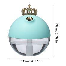 320 мл милый корона увлажнитель воздуха Арома эфирные масла Diff использовать r для домашнего офиса D08B