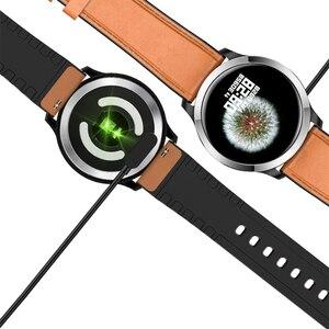 Image 4 - UGUMO hommes affaires montre intelligente ECG Fitness Tracker étanche IP68 Sport Smartwatch fréquence cardiaque moniteur doxygène rappel dappel E70