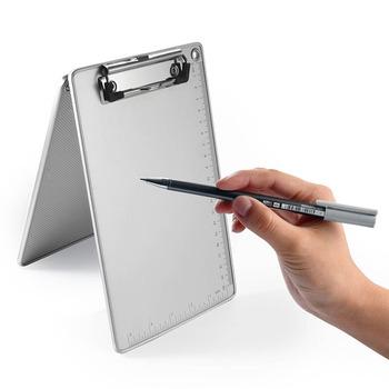 Folder A4 folder A5 folder ze stopu aluminium folder home office ze skalą notatnik do pisania folder pad obraz szyna menu folder tanie i dobre opinie HUIOANH CN (pochodzenie) Z tworzywa sztucznego 1120