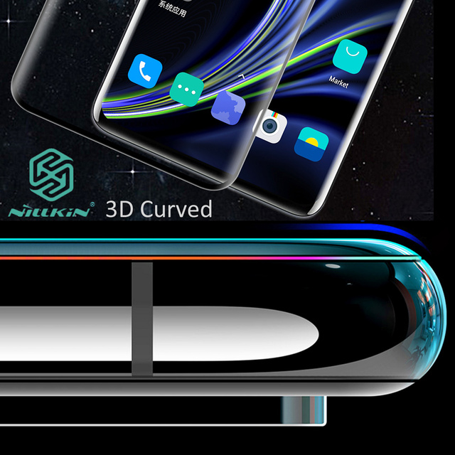 Nillkin 3D DS+ Max Tempered Glass For Oneplus 8 Pro Full Screen Cover Curved Protective oleophobic