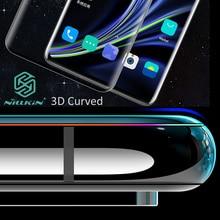 Nillkin ثلاثية الأبعاد DS + ماكس الزجاج المقسى ل Oneplus 8 برو غطاء شاشة كاملة منحني واقية oleophobic