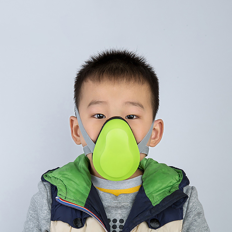 Children Dust Mask Smart Electric Air Purification Mask Anti-Pollution Breathable Mask Anti Smog Virus Dustproof Outdoor Mask