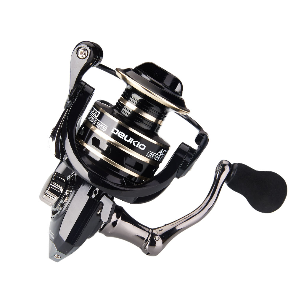 2020 New 13+1BB Fishing Spinning Reel 2000-6000 No Gap Metal Spool Gear Ratio 5.2:1  Reel Carp Fishing Gear Pesca