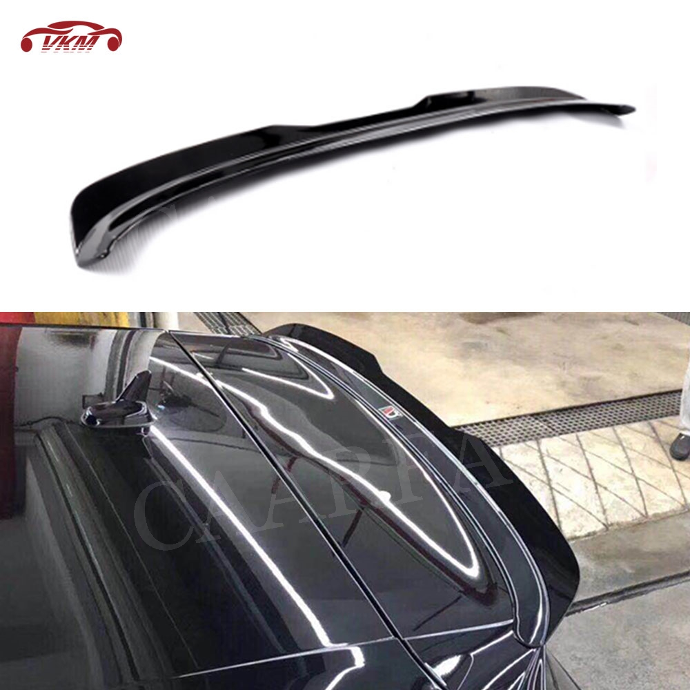 MK7 Rear Roof Spoiler for Volkswagen <font><b>VW</b></font> <font><b>Golf</b></font> <font><b>7</b></font> MK75 VII <font><b>GTI</b></font> R Rline Spoiler 2014-2019 High Quality ABS Piano Black boot Wings image