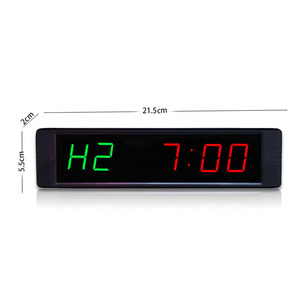 1 inch gym equipment sports electronic led timer digital crossfit training clock(China)
