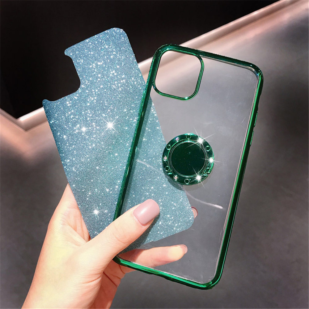 Jewelled Clear iPhone Case 2