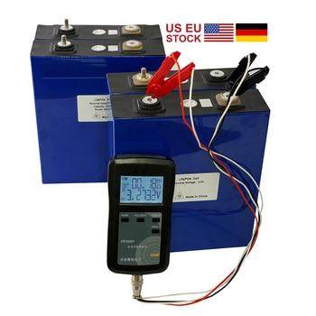 4PCS NEW 3.2V 176Ah 190Ah Lifepo4 Battery LFP Lithium Solar 4S 12v200ah  Cells Not 100Ah for Pack EV Marine RV Golf EU TAX FREE