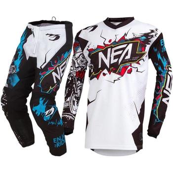 Factory Outlet koszulka motocyklowa i spodnie MX Motocross sprzęt wyścigowy zestaw ATV MTB motor terenowy Off droga dla dorosłych Combo garnitur tanie i dobre opinie FLYFACTORY Kombinacje Unisex Nylonu i bawełny