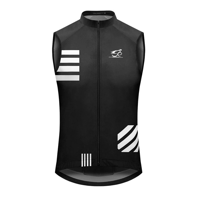 New team Cycling Men/Women Windproof Vest 2021 Waterproof Running Reflective Vest MTB Bicycle Clothing Sleeveless Cycling Wear