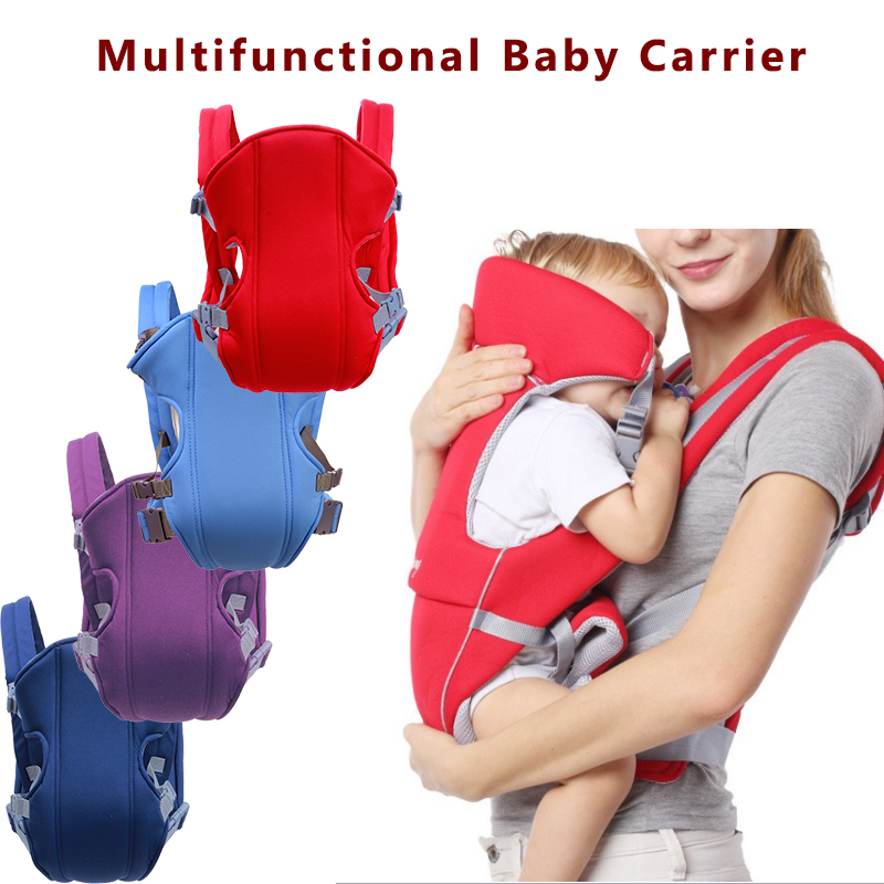 Hot Sale Breathable Front Facing Baby Carrier Comfortable Sling Backpack Pouch Wrap Adjustable Safety Baby Kangaroo Carrier