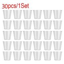 Portion-Cups Container Dessert Disposable Plastic Yogurt-Mousses Jelly Clear Transparent