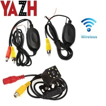Reverse Camera Wireless-Transmitter/receiver Rear-View DC Car 8 12V Wiring-Kit Vehicle