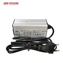 54.6V 2A 3A 4A 58.8V Li-ion battery charger for MATE X bike battery with RCA charge plug