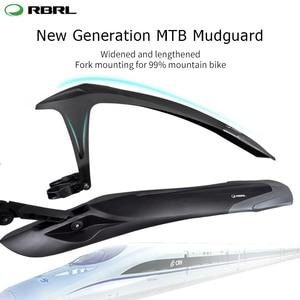 Image 1 - Rbrl mtb 머드 가드 조정 가능한 자전거 펜더 세트 특허 디자인 전자 자전거 펜더 퀵 릴리스 24 26 27.5 29 인치