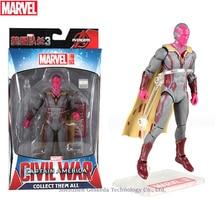 Hasbro Marvel Toys The Avenger Endgame 17CM Super Hero Thor Vision Wolverine Spider Man Iron Man Action Figure Toy Dolls цена