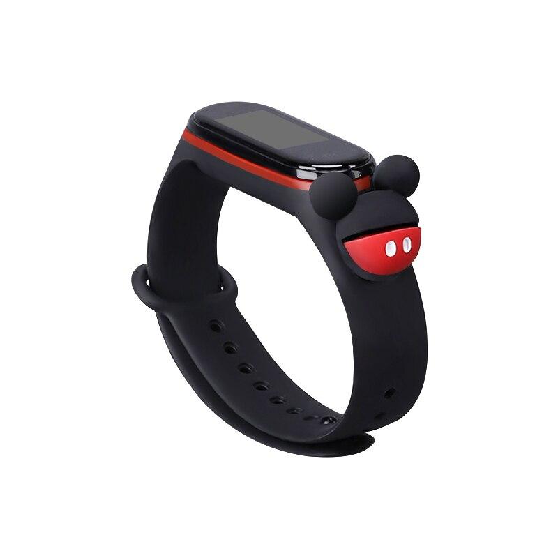 wrist strap for xiaomi mi band 3/4 Silicone strap Mi band 4 NFC accessories Sport Strap for Mi Band3 Bracelet Replacement strap(China)