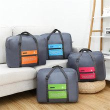 High Capacity Aircraft Organizer Travel Bag Women's Foldable Weekend Personal Clothing Luggage Accessories