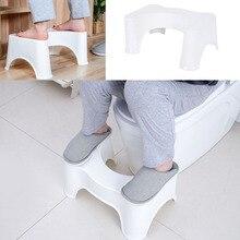 U בצורת כריעה אסלת שרפרף החלקה כרית אמבטיה עוזר עוזר רגל מושב מקל על עצירות ערימות 39x22.5x17cm