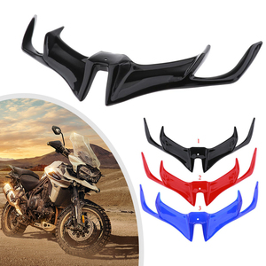 Motorcycle Front Fairing Aerodynamic Winglets ABS Lower Cover Protection Guard For YAMAHA YZF R15 V3.0 2017-18 Moto Accessories(China)