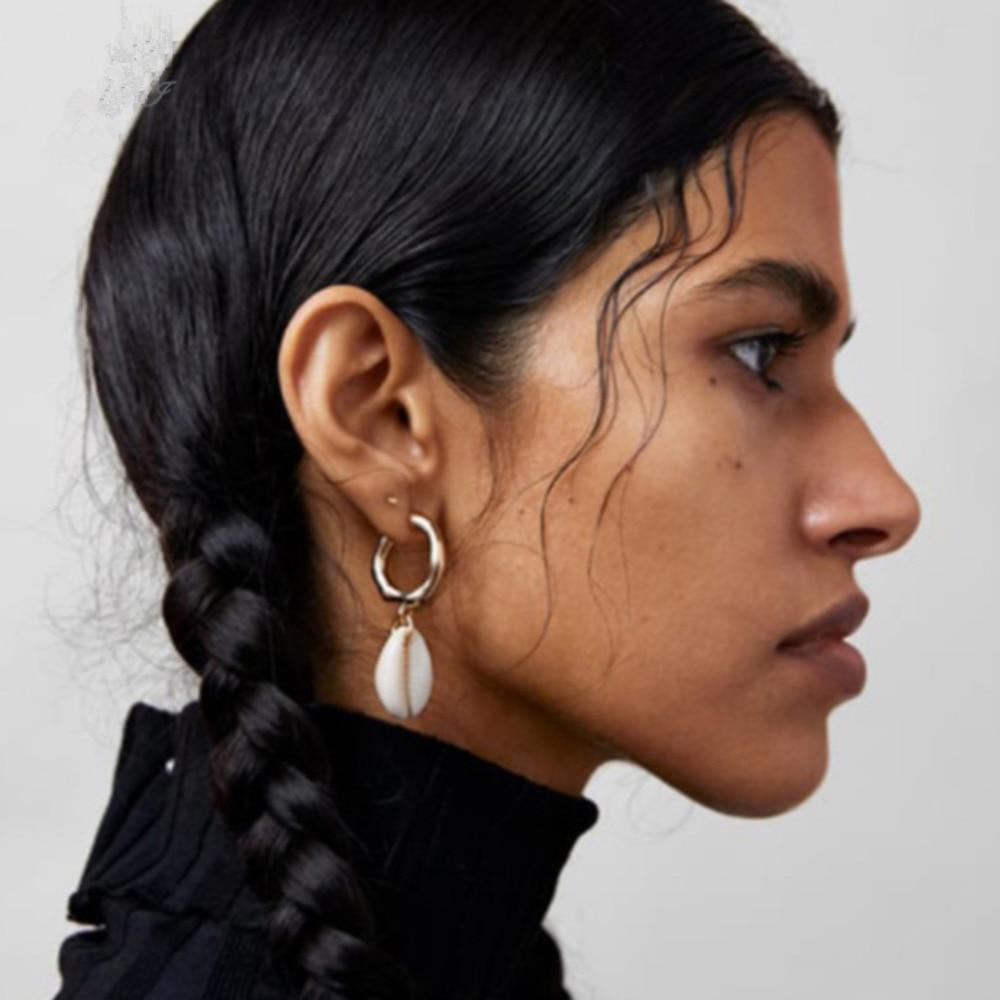 Nuevo oro o plata plateado pendientes Gota Colgante ala de Mujer Niñas orejas perforadas