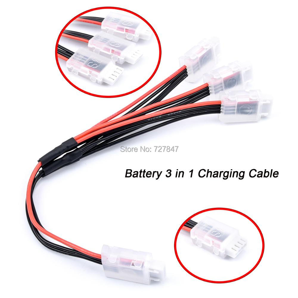 <font><b>Battery</b></font> 3 in 1 3in1 Charging Cable Parallel Charger Cord Wire For <font><b>Fimi</b></font> <font><b>A3</b></font> Drone Part <font><b>Battery</b></font> aircraft three-in-one line charger image