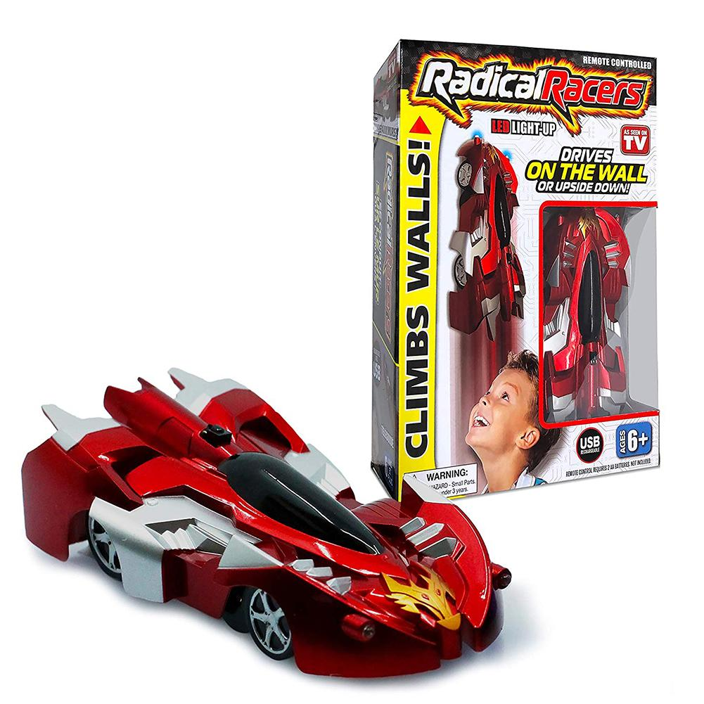 Radical Remote Controlled Wall-Climbing Car Racers - As Seen On TV Electric Climbing Car