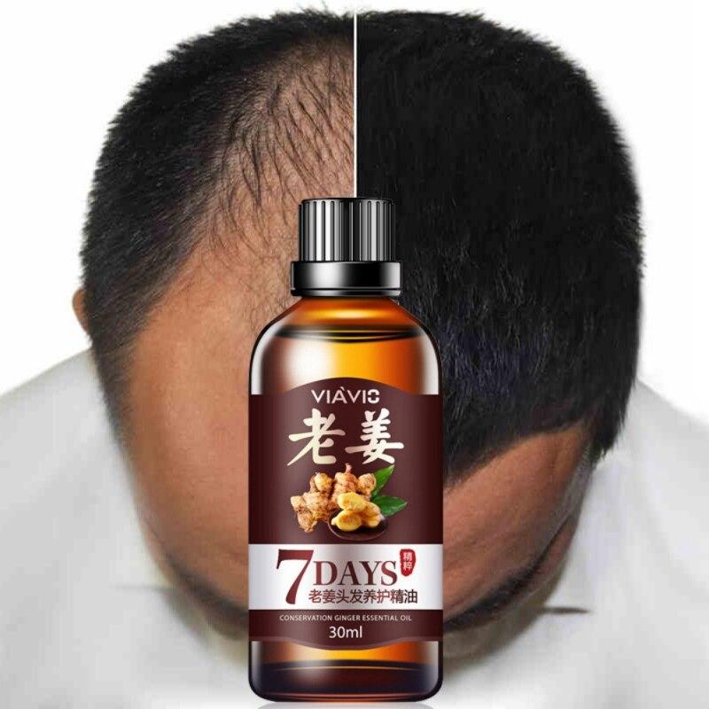 7 дней Чистый имбирь эссенциальное масло поврежденные сухие волосы уход парикмахерские дают волосам питание эссенция маска для волос уход ...