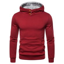 Winter Hoodie Trainingsanzug Mens Fashion Warm Halten Lange Hülse Pullover Pullover Slim Fit Mit Kapuze Jacken Taschen Mantel Sweatshirt(China)