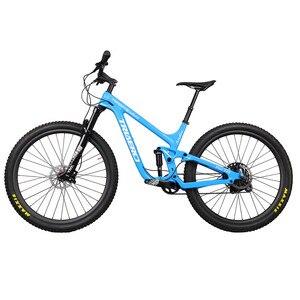 Image 2 - ICAN פופולרי 27.5er בתוספת MTB אופני השעיה מלא 150mm נסיעות אנדורו boost הרי אופניים 110*15/148*12mm סרן