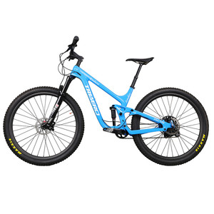 Image 2 - ICAN 인기있는 27.5er 플러스 MTB 자전거 전체 서스펜션 150mm 여행 enduro 부스트 산악 자전거 110*15/148*12mm 차축