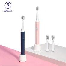 SOOCAS EX3โซนิคไฟฟ้าแปรงสีฟันชาร์จUSBฟันแปรงฟันอัตโนมัติDeep Cleanกันน้ำไร้สาย