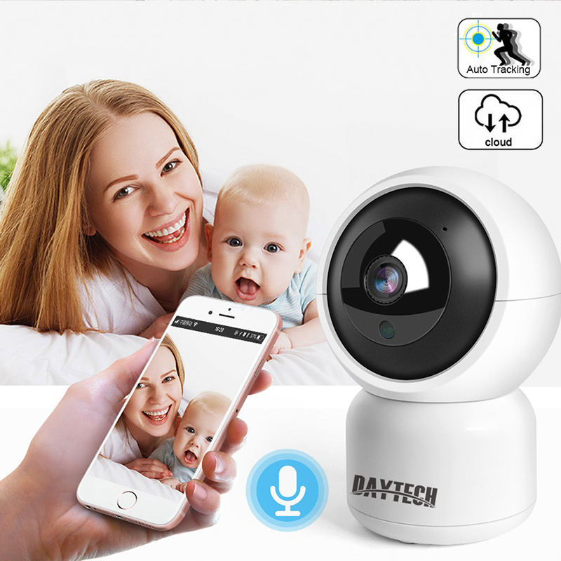 Daytech Home Security IP-camera Draadloze WiFi Camerabewaking 1080P / 720P Nachtzicht CCTV-babyfoon