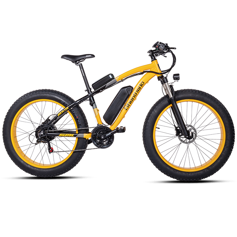 Electric bike ebike 48V1000W electric mountain bike 4.0 fat tire Electric Bicycle beach E-bike electric electric motorcycle 3