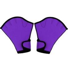 1 пара плавательных перчаток для водного фитнеса водонепроницаемые
