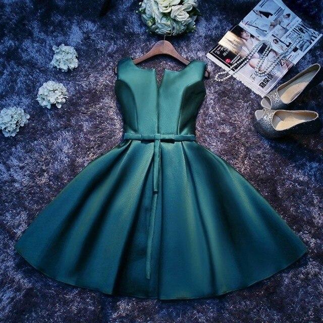Vestido de noche para mujer, vestido de fiesta corto 4