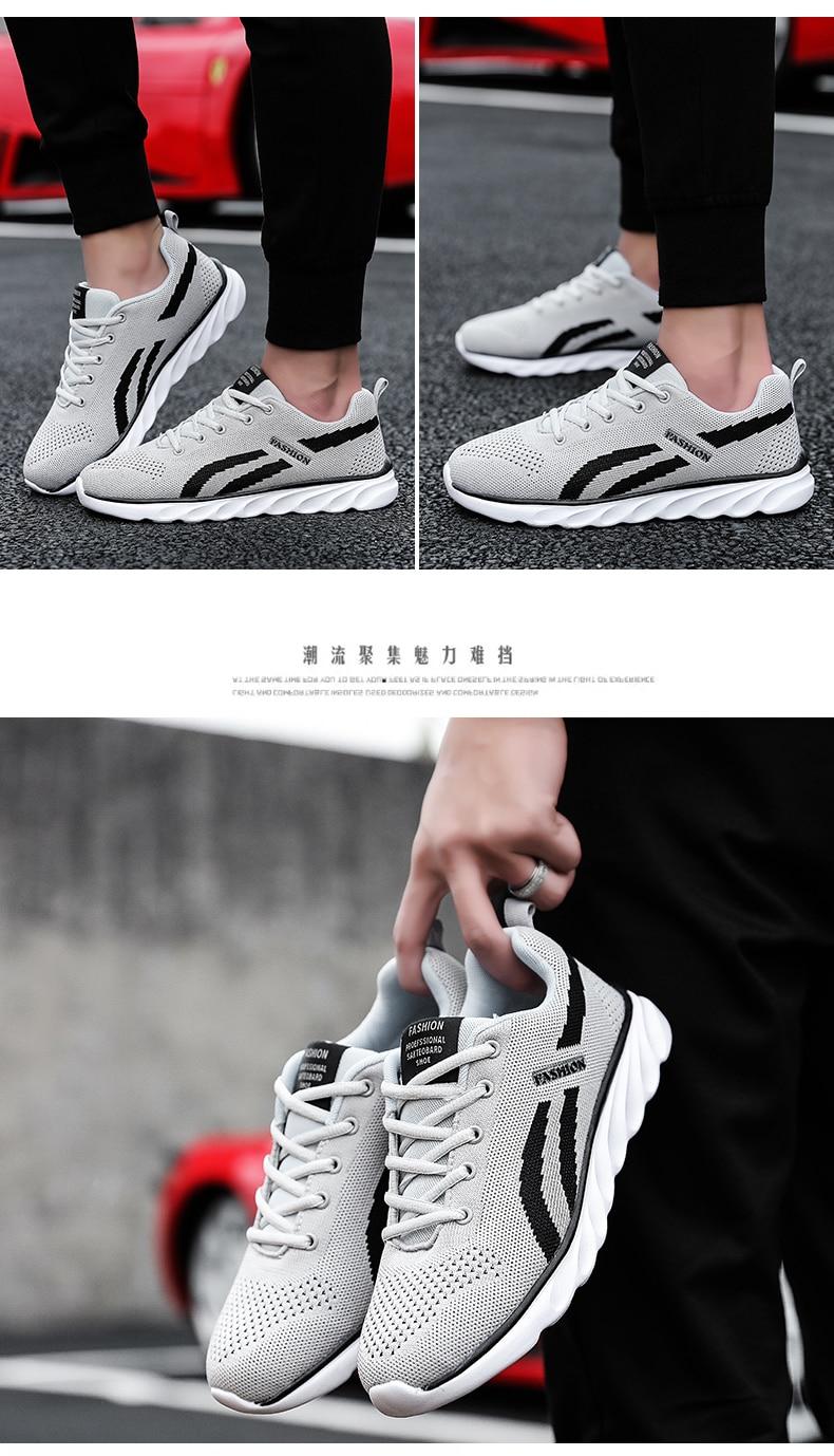 €7.77 66% de DESCUENTO NIKEZI hombre oficial Original correr Athleisure deporte ocio caminar zapatillas malla moda calle Casual zapatos Balenciaca in