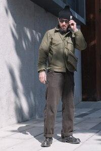 Image 5 - Куртка Bronson USN, винтажная куртка в стиле джунглей для холодной погоды, A 2