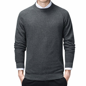 Autumn Sweater Men Classic Casual O-Neck Pullover Men Winter Cotton Sweaters Oversized Pull Homme Long Sleeve Men Clothing 3XL