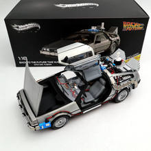 Diecast-Toys Models Hobbies-Collection Gifts Back-To-The-Future-Time-Machine Elite-Edition