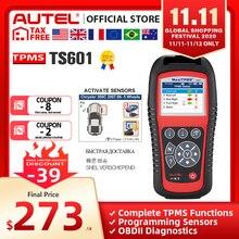 Autel maxitpms TS601 tpms車診断ツールOBD2スキャナ自動車活性化剤タイヤ修理ツールセンサープログラミングコードリーダー