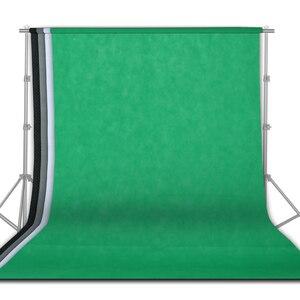 Image 1 - 4 個 1.6 × 3 メートルの写真撮影の背景写真スタジオの背景布グリーンスクリーンクロマキービデオ背景肖像パーティー