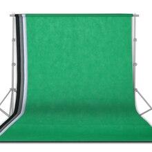 4Pcs 1.6x3M 사진 배경 배경 천을 녹색 화면 Chromakey 사진 스튜디오 비디오 배경 초상화 파티