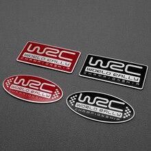 3D наклейка для стайлинга автомобиля, наклейка с алюминиевой эмблемой, задняя дверь для Subaru XV forester oytback impreza legacy WRX WRC STI, аксессуары